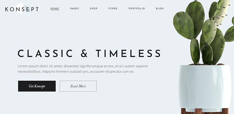 Theme Toko Online WordPress furniture